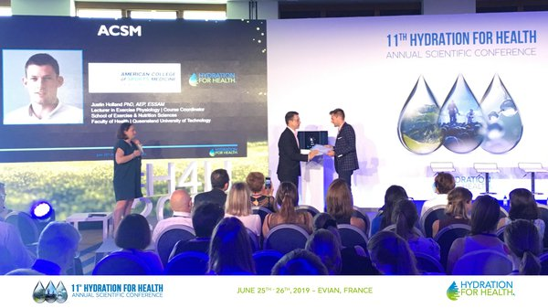 11th Annual Hydration for Health Scientific Conference, Evian, June